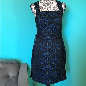 Guess by Marciano Cross Back Lace Fashion Dress